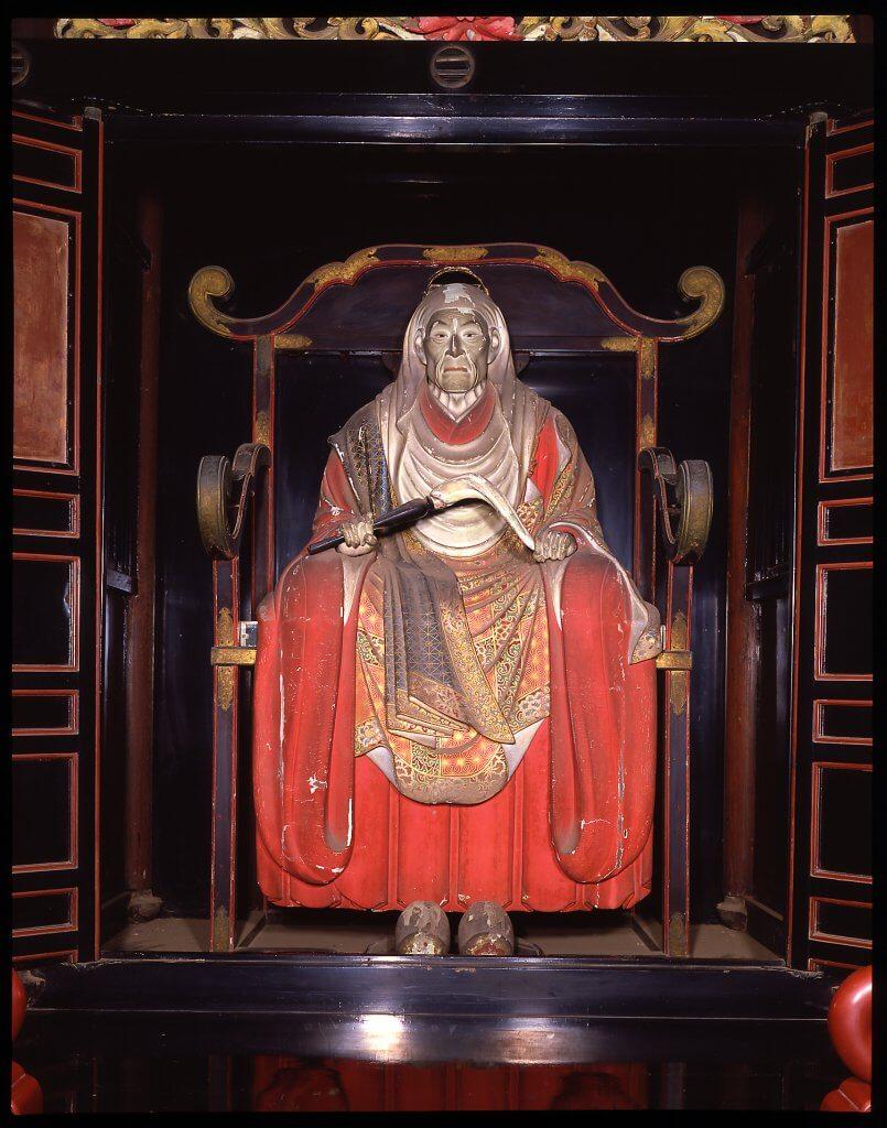 (写真)木造天海僧正坐像