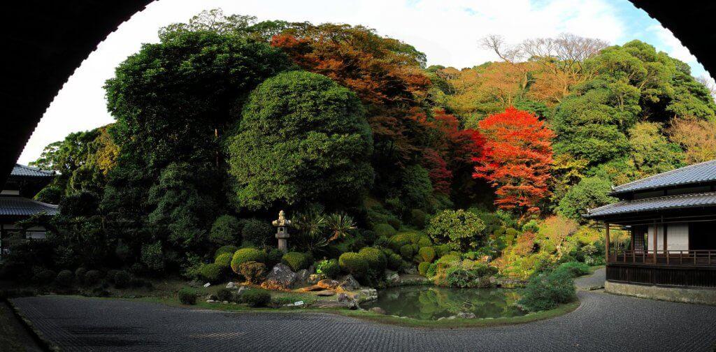 (写真)庭園