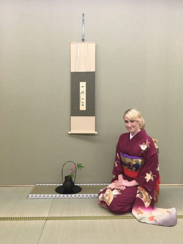 Kimono and Tea Ceremony