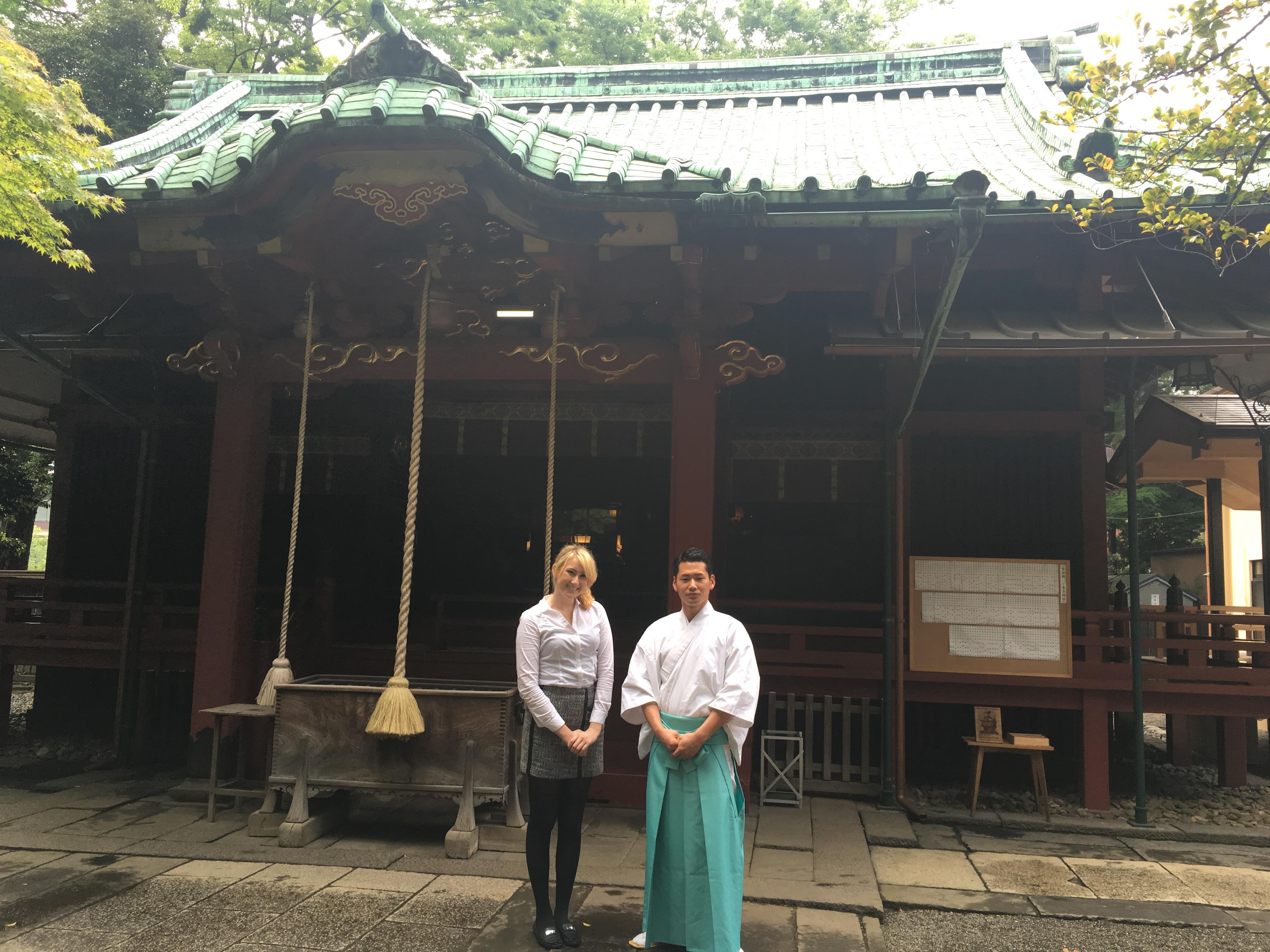 Akasaka Hikawa(shrine)