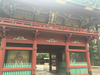 Nezu Jinja shrine