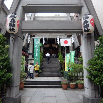Karasumori(shrine)