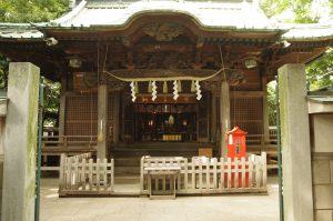 5戸越八幡神社