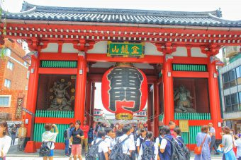 The 5 Must Sees at Sensō-ji