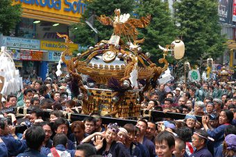 Mikoshi and Dashi