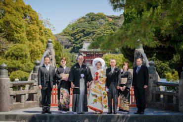 A traditional Shinto Wedding Ceremony